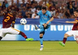 Champions: AS Roma – FC Barcelona (1-1)