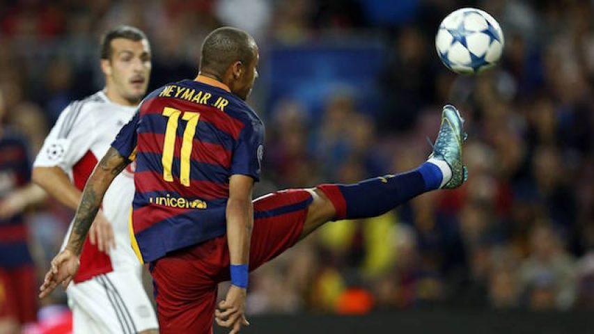 Liga Champions: FC Barcelona v Bayern Leverkusen (2-1)