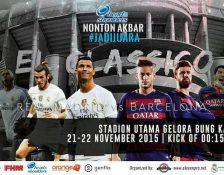 Nonton El Clasico di Stadion Gelora Bung Karno