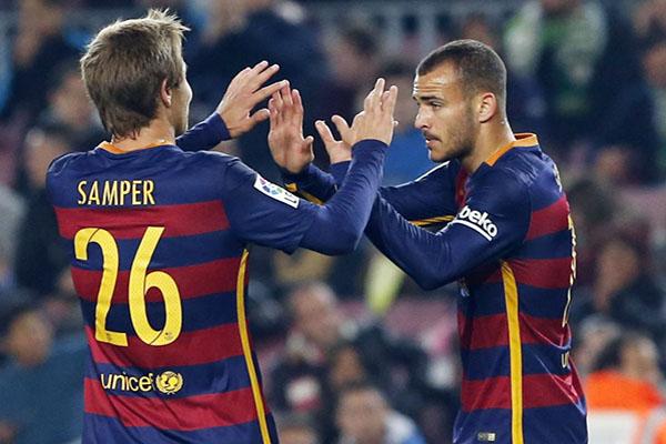 Highlights: FC Barcelona v Villanovense (6-1)