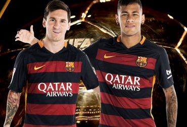 Messi dan Neymar FIFA Ballon d'Or