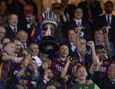 FC Barcelona Sukses Kawinkan Dua Gelar Musim 2015/16