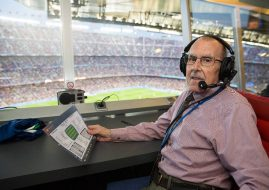 Announcer Legendaris Camp Nou