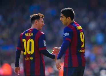 Luis Suarez Akui Akur Dengan Messi dan Neymar