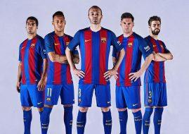 Jersey FC Barcelona Musim 2016/17