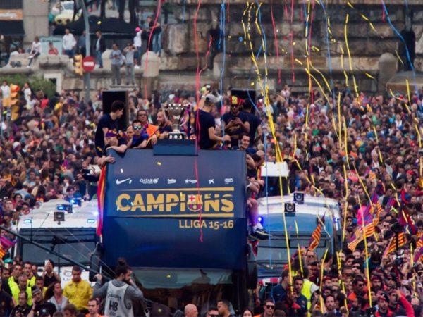 Parade Juara La Liga Musim 2015/16
