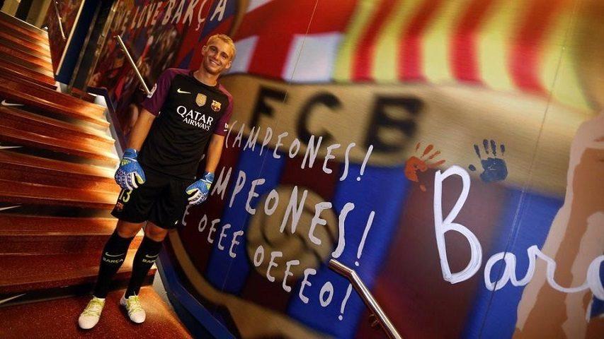 Hari Pertama Cillessen Berseragam FC Barcelona