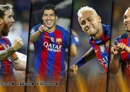 Suarez, Neymar, Messi dan Iniesta Kandidat Ballon d'Or