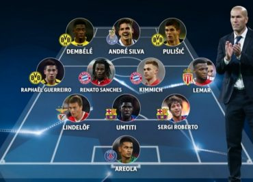 Segi Roberto dan Umtiti Masuk 'UEFA Champions League Breakthrough Team of The Year 2016'