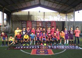 Indobarca Tangerang dan Jakarta Jalin Silaturahmi melalui Futsal