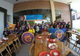 Halal Bihalal IndoBarca Reg. Jawa Timur 2017